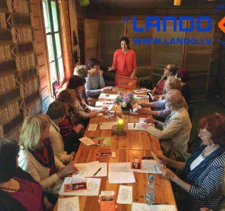 Informācijas ātra iegaumēšana un oratora meistarība profesionāliem grāmatvežiem. Treneris – Irina Lando.